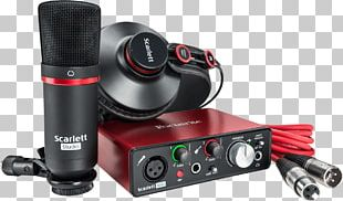 Microphone Focusrite Recording Studio Sound Recording And Reproduction Music PNG