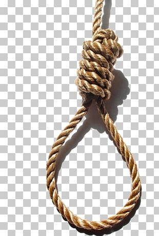 Suicide By Hanging Knot Noose Suicide By Hanging PNG