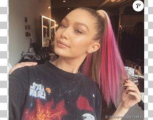 Gigi Hadid Human Hair Color Hairstyle Hair Coloring Model PNG