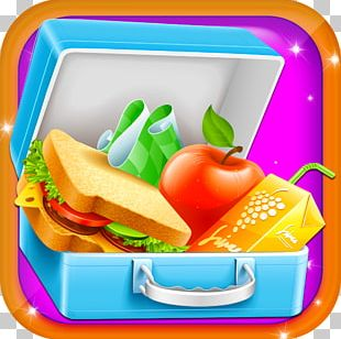 Packed Lunch School Meal Lunchbox Breakfast PNG