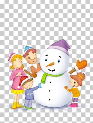 Snowman Family Computer File PNG