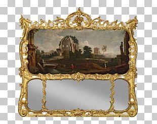 Frames Mirror Rococo Napoleon III Style PNG