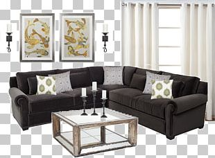 Loveseat Table Couch Living Room Furniture PNG