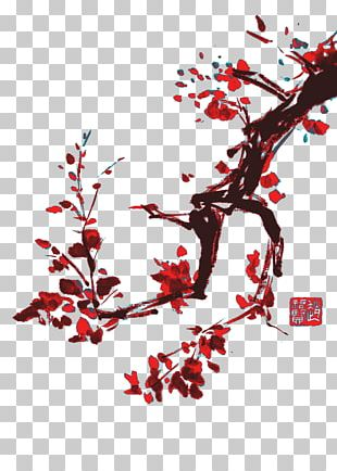 Ink Wash Painting Chinese Calligraphy Shan Shui PNG