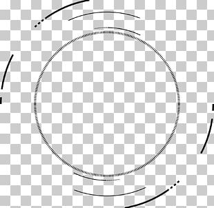Circle Black And White Angle Area Point PNG