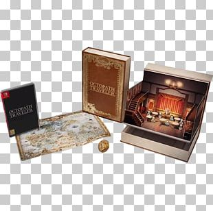 Octopath Traveler Nintendo Switch Video Game The Legend Of Zelda: Collector's Edition PNG