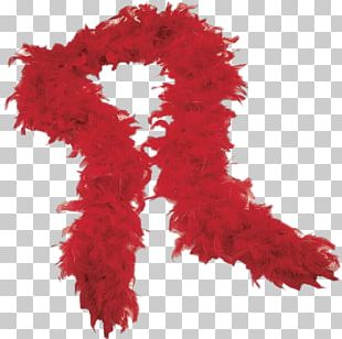 Feather Boa Scarf Clothing Costume Party PNG