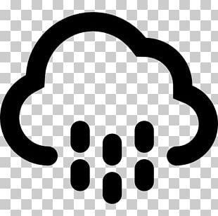 Rain Cloud Symbol Weather Climate PNG