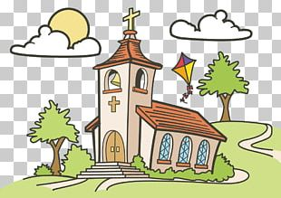 Drawing Church Spot The Difference PNG