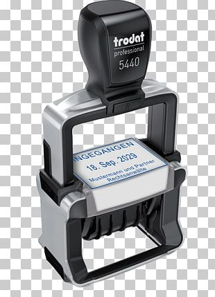 Trodat Rubber Stamp Printing Postage Stamps Color PNG
