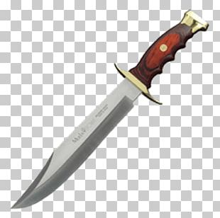 Bowie Knife Hunting & Survival Knives Throwing Knife PNG