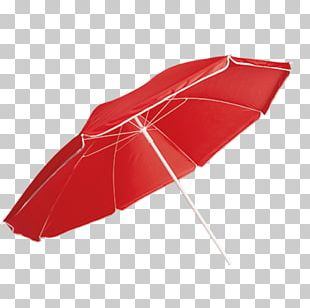 Umbrella Clothing Accessories Red Beach PNG