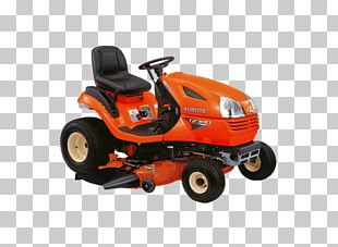 Lawn Mowers Tractor Kubota Corporation Riding Mower Agriculture PNG