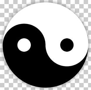Yin And Yang Taijitu Symbol Public Domain Tao PNG
