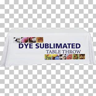 Tablecloth Dye-sublimation Printer Printing PNG