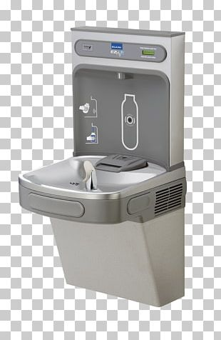Drinking Fountains Water Cooler Elkay Manufacturing Bottle Drinking Water PNG