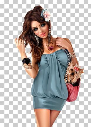 Fashion Illustration Model Woman Drawing PNG