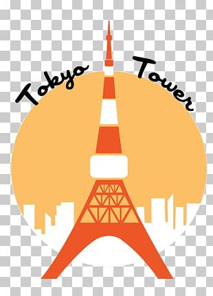 Tokyo Tower Logo Greeting & Note Cards PNG