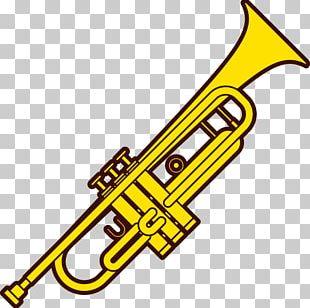 Trumpet Musical Instrument Cornett PNG