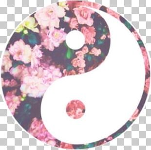 Yin And Yang Flower Drawing Desktop PNG