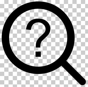 Magnifying Glass Question Mark Information Computer Icons PNG