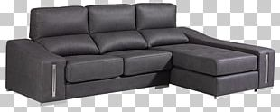 Couch Chaise Longue Sofa Bed Leather PNG
