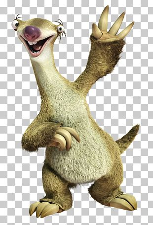 Sid Scrat Ice Age Character PNG