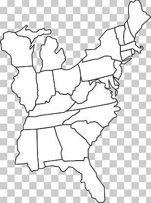 Northeastern United States Blank Map Geography Mercator ...