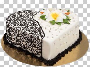 Buttercream Torte Chocolate Cake Marzipan Wedding Cake PNG