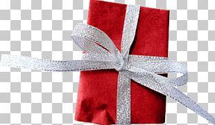 Gift Ribbon Santa Claus PNG