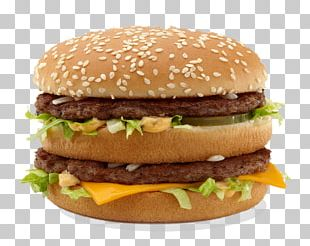 McDonald's Big Mac Hamburger Big King Fast Food Restaurant PNG