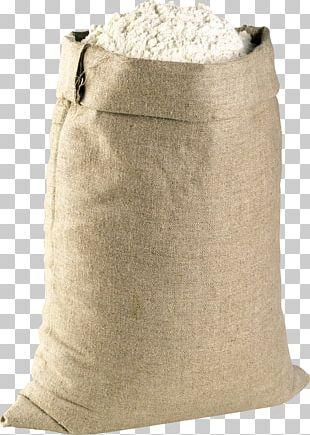 Flour Sack Baguette Bread PNG