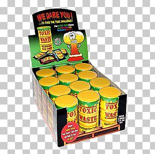 Toxic Waste Sour Sanding Candy Hazardous Waste PNG