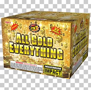 All Gold Everything TNT Fireworks Store Explosion PNG