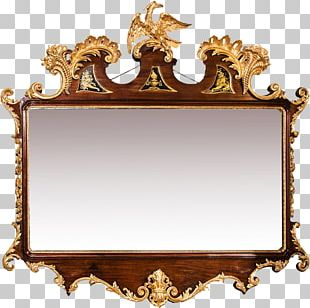 Mirror Fireplace Mantel Mirror Flower PNG