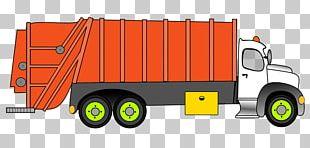 Pickup Truck Garbage Truck Car Waste PNG