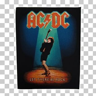 Let There Be Rock AC/DC Rock And Roll Black Ice Heavy Metal PNG