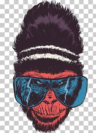 Gorilla Drawing Artist Illustration PNG