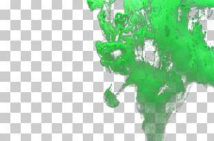 Colored Smoke Green PNG