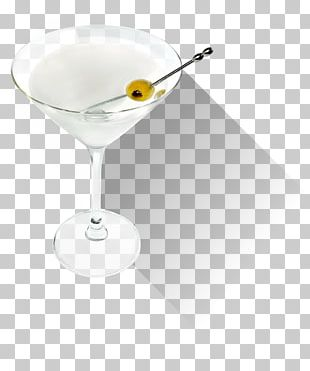 Martini Cocktail Garnish Champagne Glass PNG