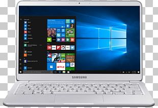 "Laptop Kaby Lake Samsung 15"" Notebook 9 Silver PNG"