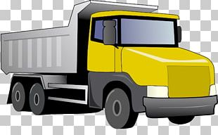 Car Pickup Truck Dump Truck PNG