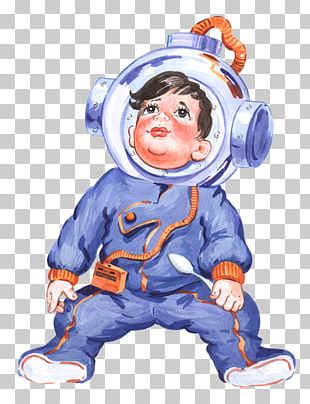 Astronaut Profession Presentation PNG