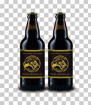 Beer Bottle Stout Irish Red Ale PNG