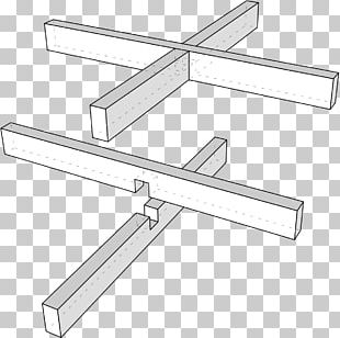Woodworking Joints Halved Joint Lap Joint Material PNG