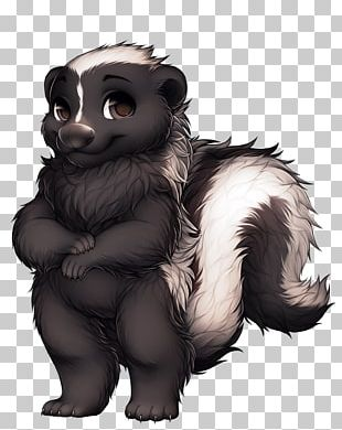Furry Fandom Skunk Funny Animal Furry Convention PNG