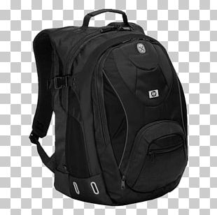 Hewlett-Packard HP GN073AA Sport Backpack (Black) Laptop HP Sport GN073AA PNG