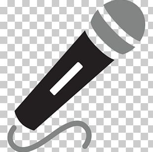 Microphone Emoji Text Messaging SMS Sticker PNG