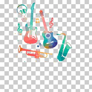 Musician Watercolor Painting Musical Instrument PNG