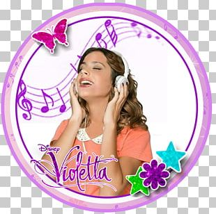 Violetta Paper Birthday Party PNG